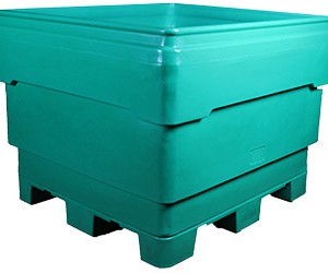 FBP Series bins. Flat Bottom Pallet combo bins.