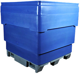 RBP series bins. Rotating bottom bins.